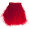 Marabou Trim 6In Aprox. 20g 1Yd Red